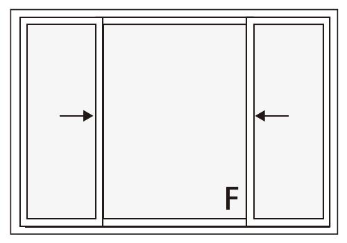 両袖片引き窓とは   インテリア用語   NIF